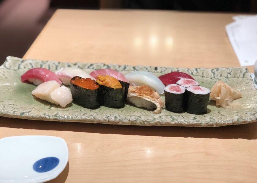 伊勢丹のお寿司ランチ♪